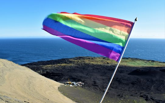 First LGBTQ+ Pride celebrated on Surtsey Island!
