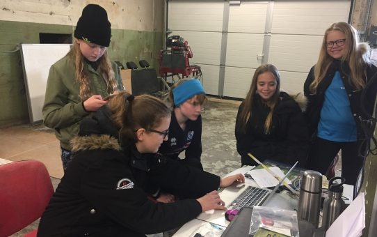 Girls of Scouts International, Heimaey, Explore the Surtsey Drill Core